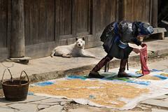 Daily life in the village - YINTANG  village - DONG PEOPLE (Rita Willaert) Tags: china handicraft embroidery tribes guizhou guiyang minorities southwestchina guizhouprovince dongpeople yintangvillage