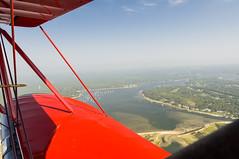 Hazy Cape from Nantucket Sound (GmanViz) Tags: color nikon waco capecod biplane d90 ymf5 gmanviz