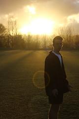 Millsy ( than allagher ) Tags: sunset sun field photography football soccer cutie rays swag footy