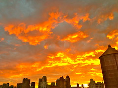 Sunset (Sarah_Ackerman) Tags: nyc newyorkcity sunset newyork manhattan upperwestside uws