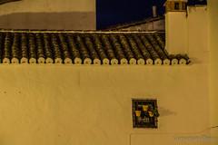 Pots in the wall (Cursomn) Tags: espaa house fall wall night pared noche casa spain pot ronda otoo mlaga autumm maceta canon60d canoned18135mm