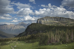 Glacier Park, MT  46 (Largeguy1) Tags: mountain clouds landscape mt mark iii approved canon5d glacierpark vision:mountain=091 vision:outdoor=0986 vision:sky=0916 vision:car=0569 vision:clouds=0931