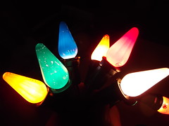 a Vintage string of c6 8 light series noma from 1948 (brown_dan72) Tags: christmas antique ge c6 noma vintagechristmas
