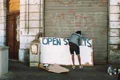 Participate (Wiehahn Diederichs) Tags: sign pentax kodak observatory expired portra participate 160 openstreet