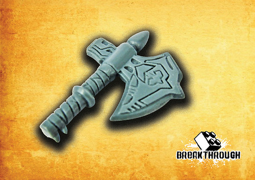 Custom Diablo Weapon: The Wedge Legendary Axe for Barbarian