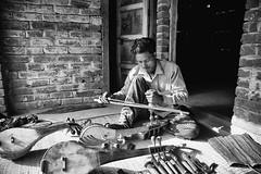 Shofikul - instrument maker (Sadhu Guru Boishnob Recordings) Tags: fakir baul dotara