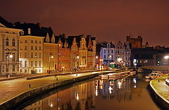 Gent_17.11.13_Night_View (Caulker) Tags: gent17181113
