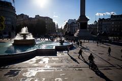 Glorious Trafalgar Square (Rebecca Danby) Tags: street uk england people london fountain square photography trafalgar trafalgarsquare bigben