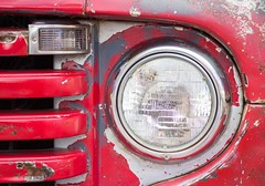 SYLVANIA (Jon Matthies) Tags: auto show red classic ford car metal truck rat paint pickup az automotive f1 66 days grill route flagstaff headlight patina