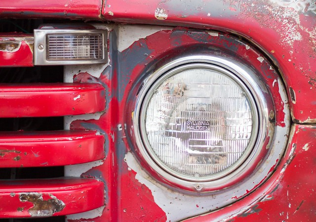 auto show red classic ford car metal truck rat paint pickup az automotive f1 66 days grill route flagstaff headlight patina