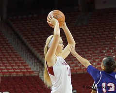 University of Arkansas vs Northwestern State University Basketball (Garagewerks) Tags: woman college basketball sport female university all sony sigma arkansas northwestern f28 uofa razorbacks universityofarkansas nsu 70200mm northwesternstate northwesternstateuniversity slta77v