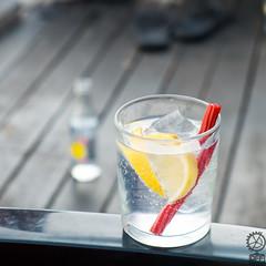 Gin Tonic & Candy (JF Sebastian) Tags: glass closeup hotel bottle blurry candy deck hammock gintonic alcaládehenares morethan100visits morethan250visits morethan500visits morethan1000visits fujifilmxe11855