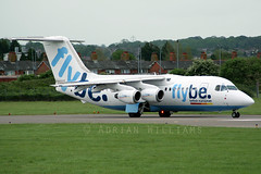 Flybe BAe 146 G-JEAY (Perfect Moment Images) Tags: airport whisper european jet british southampton bae sou regional 146 rj85 flybe