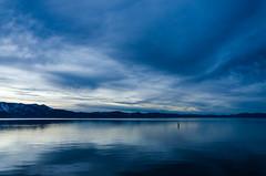 Feeling blue (morozgrafix) Tags: california sunset lake water day unitedstates cloudy laketahoe southlaketahoe sigma1020mmf456 nikond7000