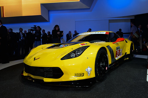 Chevrolet Corvette Z06 Racecar at 2014 NAIAS