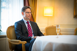 PM Jyrki Katainen meets with PM Valdis Dombrovskis