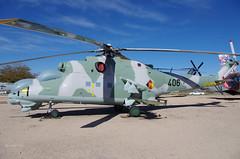 B4002 MiL Mi-24D Hind '406' (eLaReF) Tags: pima air museum county az tucson b4002 mil mi24d hind 406 space arizona