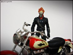 Ghost Rider (Gui Lopes BH) Tags: classic comics miniatures action ghost statues collection heroes figurine marvel universe panini rider figures fantasma daredevil motorista chumbo motoqueiro paladins eaglemoss guilopesbh
