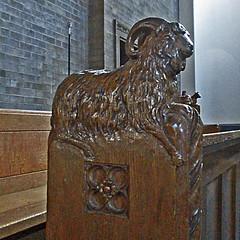 St Mary Magdalen, Earlsdon, Coventry (amandabhslater) Tags: church coventry blueroof earlsdon stmarymagdalen locallylistedbuilding hlcf