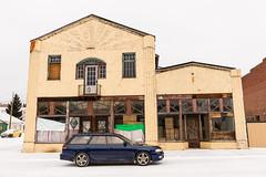Winter Drive (Dbennison) Tags: winter canada drive nikon turbo alberta subaru coleman legacy gtb d800 2470mm