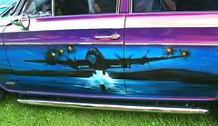 Mk 1 Cortina Savage Custom Car (wontolla1 (Septuagenarian)) Tags: 3 guy ford cortina car plane dam aircraft air brush german lancaster modified damm custom bomb bomber gibson wallis barnes litre bouncing savage busters customised mark1 threethousandcc