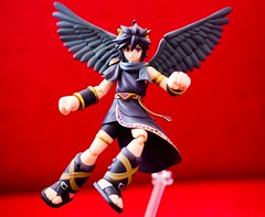 Dark Pit (FaruSantos) Tags: toys nintendo figurine 3ds kidicarus figma nintendo3ds kidicarusuprising darkpit