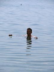 Zwemmen in het meer