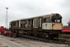 58022 loading at Crewe Diesel. 30-May-14; Ref-