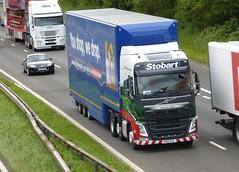 H4210 - KU15 VST (Cammies Transport Photography) Tags: truck volvo may tesco lorry m8 eddie fh supermarkets flyover clarissa esl vst harthill stobart eddiestobart h4210 ku15vst ku15