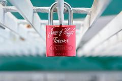 Jane & Hugh (frozenpuddle) Tags: bridge lock padlock