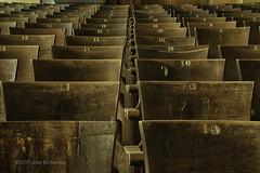 seats 10 11 12 DSC_7550-Edit (Floater Ya-Ya (Jean McKenna)) Tags: school abandoned vintage pa schuylkillcounty abandonedamerica jwcooperhighschool