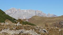 The imposing south face of Marmolada (Dolomites) (ab.130722jvkz) Tags: italy trentino veneto alps easternalps dolomites marmoladagroup mountains autumn