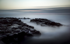 Connected in the deep... (Photography by Julia Martin) Tags: twilight photographybyjuliamartin longexposure lanzarote black volcanic leebigstopper