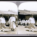 A VISIT TO OLD KOREA in 1902, No.18 --  Korea As it Was, Captured in 3-D by HERBERT G. PONTING thumbnail