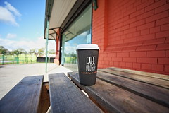 coffee time (Barry Miller _ Bazz) Tags: coffee latte caramel victoria park widnes cheshire canon 5d mark2 sigma50mmf14 lens relaxing seats