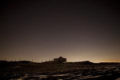 Shack at Night (josephstampfl) Tags: night sky stars nighttime beach 4x4 4wdvan life camping