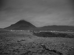 P1020544-2 (Gumundur Rbert) Tags: iceland snfells snfell snfellsnes lumix gx 80 85 black white bw landscape autumn winter is coming