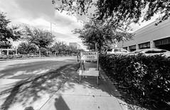 2016-10-26-0010 (alexdotbarber) Tags: 1meter 1250 35mm houstongalleria kodaktmax100 voigtlanderbessal voigtlandersuperwideheliar15mmf45 blackandwhite f8 sidewalkclosed underexposed