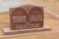 Seaborn & Lena Stewart (twm1340) Tags: chillicothe tx texas hardeman county cemetery family seaborn ray stewart lena estelle shanahan michael william sarah margaret potter peterjasonstewart maryelizabethbrown coldwater tate ms limerick ireland seab stewartshanahanclan