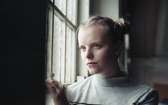 Charlotte Parker (fraser_west) Tags: portrait people girl actor church naturallight 35mm film filmisnotdead analog shootfilm kodak kodakfilm kodakportra160 canon eos3 beautiful beautifullight model 2016
