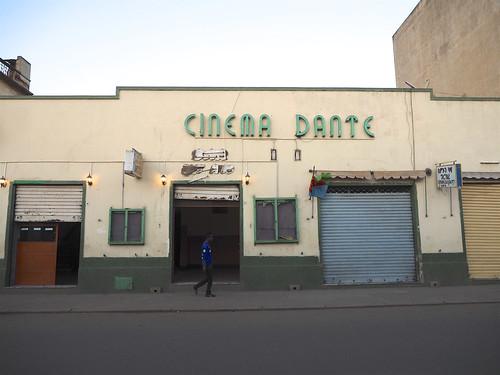 Cinema Dante Asmara, Eritrea