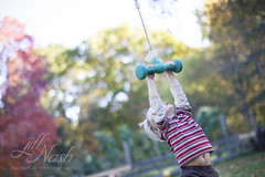 Hangin' out (grilljam) Tags: october2016 seamus 4yrs autumn pejepscotdayschool playground hanging