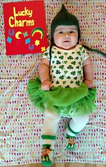 Lucky Charm (Canadian Veggie) Tags: astrid baby infant halloween costume luckycharms