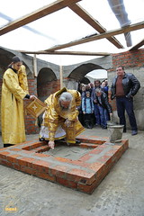 91. The Laying of the Foundation Stone of the Church of Saints Cyril and Methodius / Закладка храма святых Мефодия и Кирилла 09.10.2016