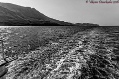 """Sunshine on the waters looks so lovely.."" - John Denver (vdwarkadas) Tags: balos baloslagoon water crete greece mountains ferry sony sonynex5t sunshine"