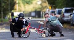 The Little Red Bike Crew (jasonharry1993) Tags: swag red bike bros crew sigma canon 70200mm 60d lens devon focus f28 potd photography picoftheday people