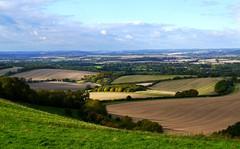 Fields near Inkpen - In Explore 21 Oct 16 (ian con) Tags: landscape fields sky clouds