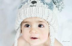 <3<3<3 (Coral ML) Tags: beb baby fro estudio retrato mirada eyes tierno face cara momentos pequeo small torbellino gateando divertido
