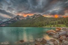 Mountain on fire (FollowingNature) Tags: banffnationalpark lakelouise followingnature