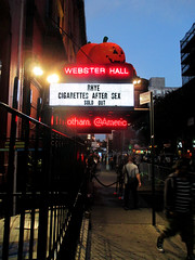 Cigarettes After Sex 2016 Webster Hall NYC 7060 (Brechtbug) Tags: cigarettes after sex live from webster hall appearing with band rhye sold out october 10142016 nyc 2016 new york city mr randy miller bass greg gonzalez vocals jacob tomsky drums phillip tubbs keyboard manhattan downtown music musicians group stages bands 11th street between 4th 3rd avenues cigarettesaftersex halloween decorations st ave avenue